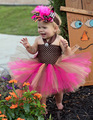 2016 new spring and autumn baby dress Christmas skirt children's Princess dress Peng Peng skirt 1-2 years free shipping