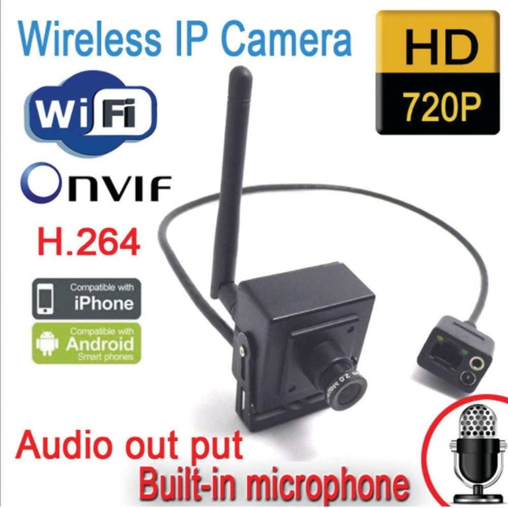 NEW mini IPcamera wifi 720p HD WiFi IP camera wireless P2P insert camera indoor new wifi