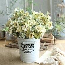 1 Pc Milan Bouqu Lilac Flower Fake Plants For Wedding Decoration Artificial Wildflower Home DIY Wreath