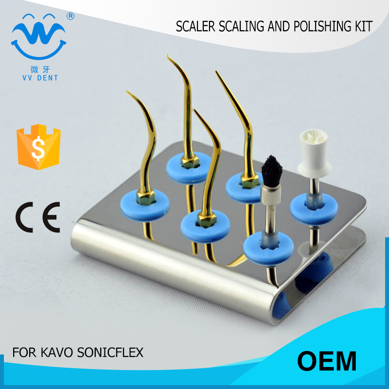 5 pcs KASPKG tooth polishing  scaling kit fit Kavo SONICflex 2003  Koment Sirona Siroair airscaler NSK  W&H proxeo air scalers 2 sets seks satelec endosuccess kit for dental endodontics treatment fit gnatus nsk hu friedy and woodpecker dte scalers