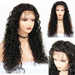 Eversilky бразильский Реми 360 Синтетические волосы на кружеве al парик мокрой волнистые Glueless Синтетические волосы на кружеве человеческих волос