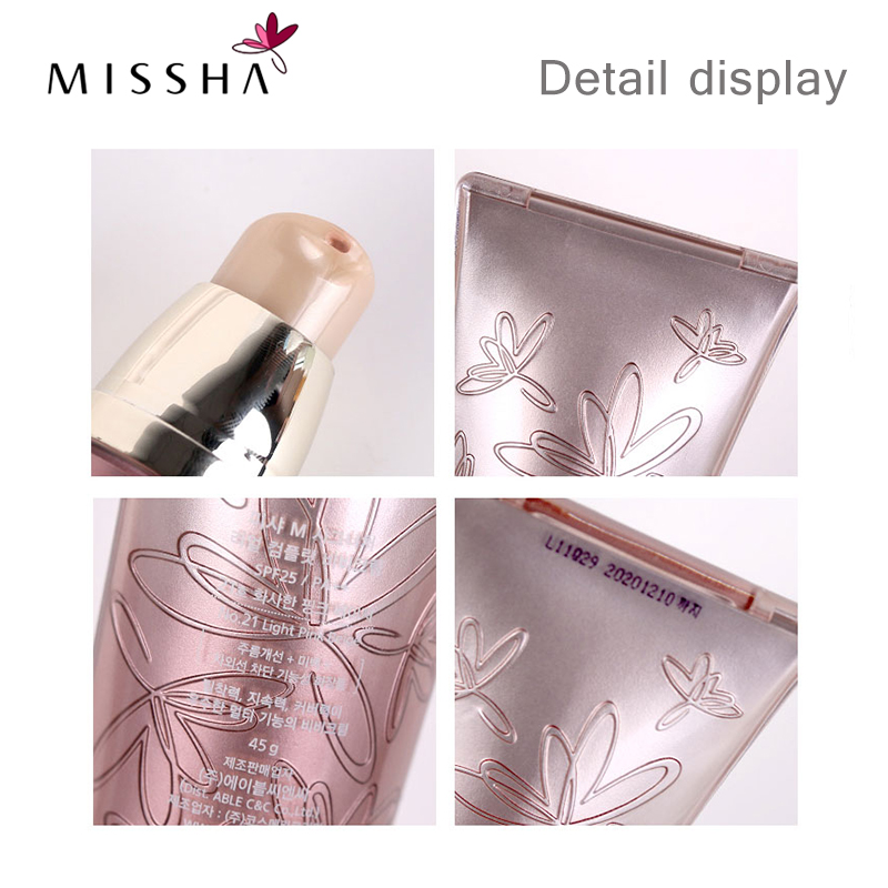 Missha M Signature Real Complete BB Cream SPF25 PA No 27 Honey Beige NEW Foundation Moisturizing Makeup Perfect Cover Cosmetic in BB CC Creams from Beauty Health