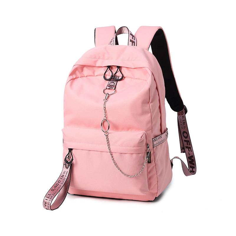 JCPAL модные Водонепроницаемый ткань Для женщин рюкзак Колледж школьные сумки для девочек-подростков Bookbags Bagpack Путешествия Рюкзак Mochila ...