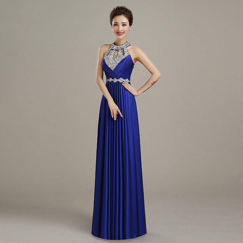 Cheap Long A Line Evening Dresses Free Shipping Satin Sexy ...