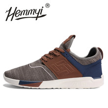 hemmyi new 2019 Spring Summer Men Sneakers Shoes Breathable Wear-resistant Casual Light mesh Shoes masculino adulto