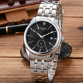 Hot 2016 chenxi marca de lujo hombres del deporte militar calendario de negocios de lujo reloj de los hombres completa de acero inoxidable reloj banda