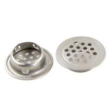 New Hotsale Promotion  2 Pcs Stainless Steel 1.3″ Kitchen Sink Basin Drain Strainer