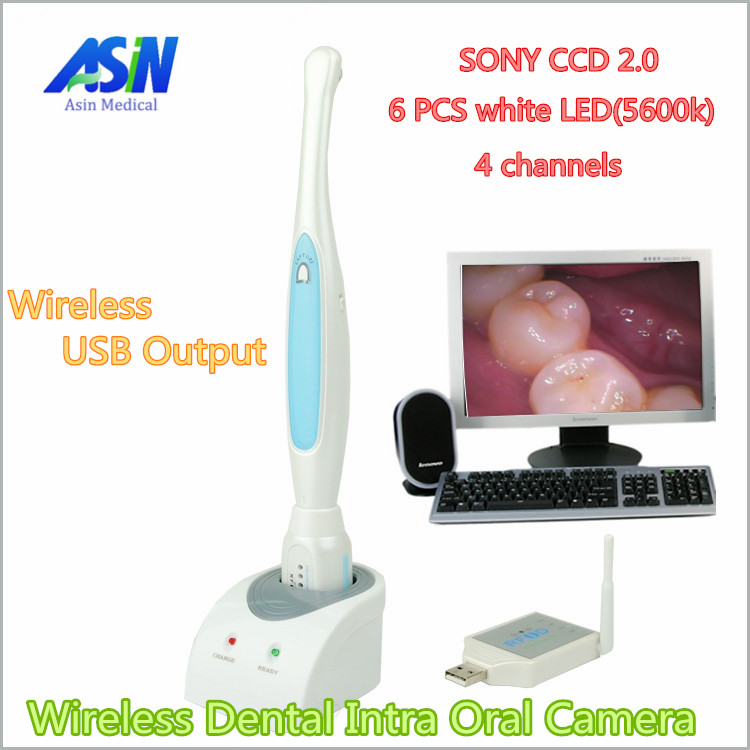 High Quality 2016 New Wireless Dental Intra Oral Camera SONY CCD 2.0 Mega Pixels dental intraoral Camera endoscope 950AUW md740 dental intraoral oral dental camera endoscope borescope usb x pro imaging systems