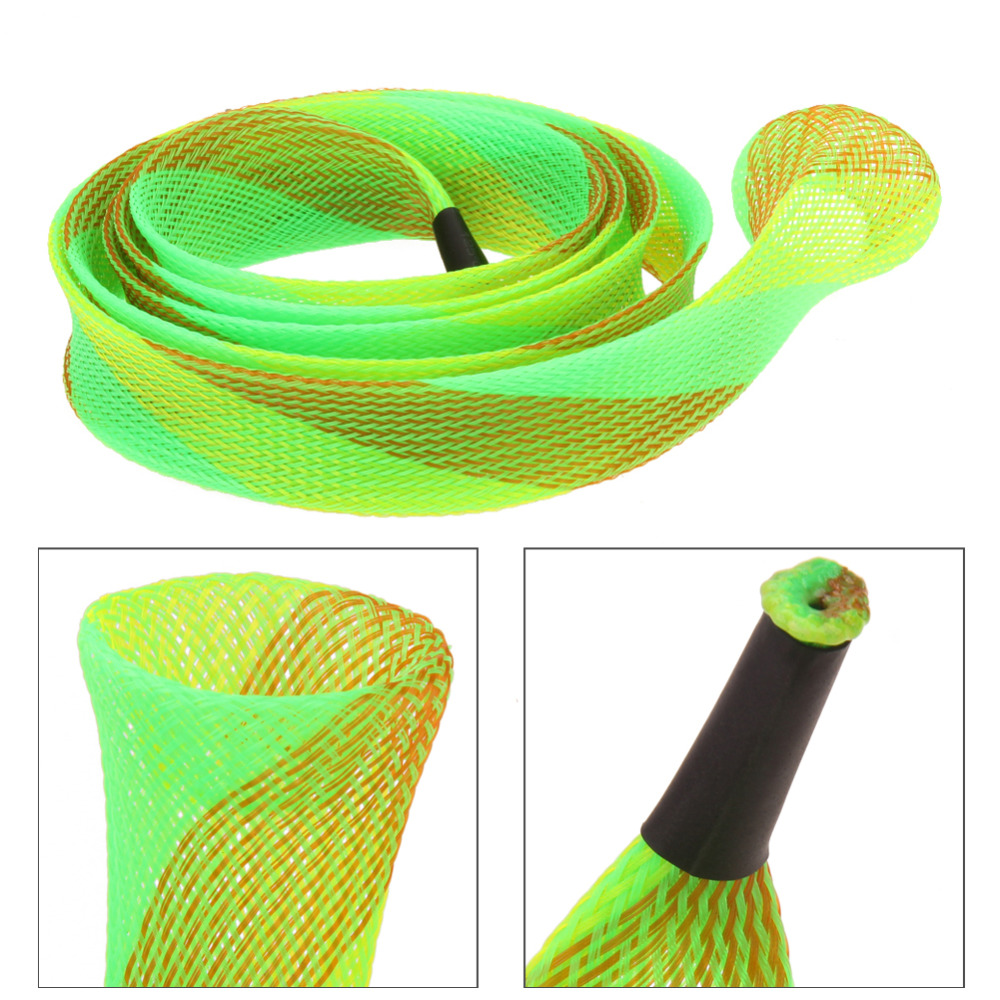1 pc expandable 160cm anti slip rod covers accessories for Fishing pole sleeves