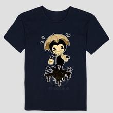 Novelty Cartoon T Shirt Gildan Men'S Graphic Crew Neck Short-Sleeve Bendy And The Ink Machine T Shirts