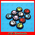 20pcs=10pairs for playstation 4  cat paw thumbstick joystick cover grips caps skin for ps3 ps4 XBOX 360 one