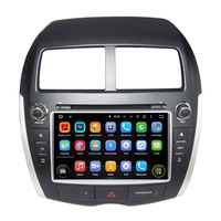 8Inch Android 4 4 4 Dual Quad Core Car DVD Player GPS For MITSUBISHI For ASX