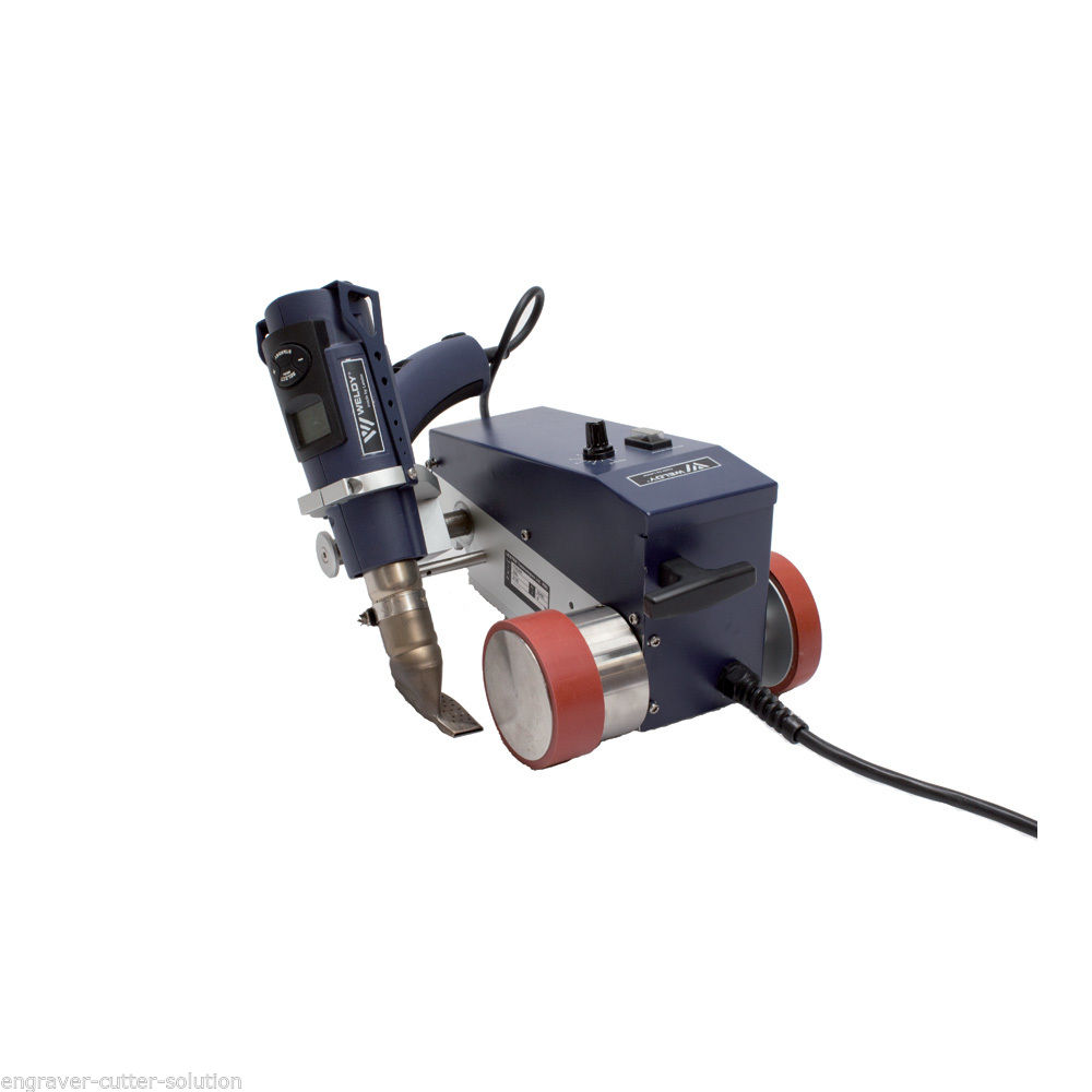 hot air welding machine/hot air welding machine hot air gun Weldy Foiler Plastic Welder Welding Machine , 30mm Welding Width