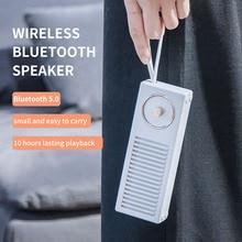 лучшая цена Retro Portable Wireless Bluetooth Speaker Sound System Stereo Music Surround Outdoor Speaker Mini Subwoofer Loudspeaker 322