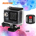 "2016 Hot W9R Go pro hero 4 style Sport Camera Full HD 1080P DV 2.0"" LCD 170D lens Waterproof Camera Diving Sports DV Camcorder"