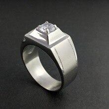 Han edition men's fashion ring domineering man zircon casting titanium steel ring jewelry wholesale hans giese han man