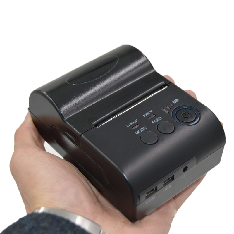 Thermal Printer 58mm POS Receipt Printer Bluetooth 4.0 Thermal Receipt Barcode Printer Ticket Machine for IOS Android Windows 58mm portable printer bluetooth thermal printer support 50mm diameter paper roll for ios pos ticket printing machine hs 590ai