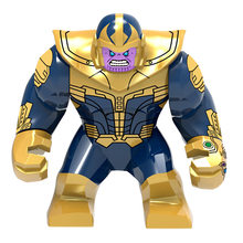 Single Sale Marvel Building Blocks Ant Man Thanos Hulk Thor Avenger Iron Man Black Widow Minifigs Toys for kids & adult(China)