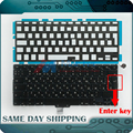 "New for Apple MacBook Pro 13.3"" A1278 RU Russian Keyboard + Backlight/Backlit +100pcs keyboard Screws +Tool 2009-2012 Years"