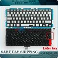 "Novo para Apple MacBook Pro 13.3 ""A1278 RU Teclado Russo + Backlight/Iluminado + 100 pcs Parafusos do teclado + ferramenta 2009-2012 Anos"
