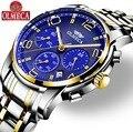 Мужские часы OLMECA брендовые кварцевые военные часы Relogio Masculino водонепроницаемые наручные часы с хронографом для мужчин
