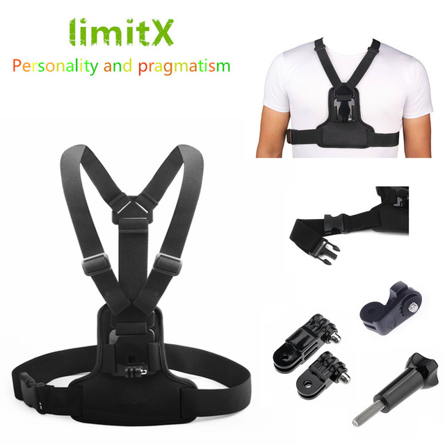 Chest Mount Harness Chest Strap For Polaroid Xs7 Xs9 Xs20 Xs80 Xs100