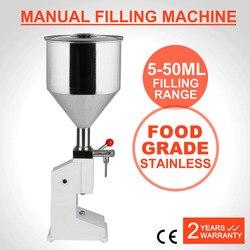 A03 Manual Liquid Paste Filling Machine 5~50ml Liquid Filling Machine