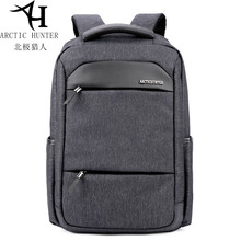 Arctic Hunter Waterproof Men's Backpack Portable Black Leisure Laptop Bag For Men Zipper Backpack Men B00111 недорого