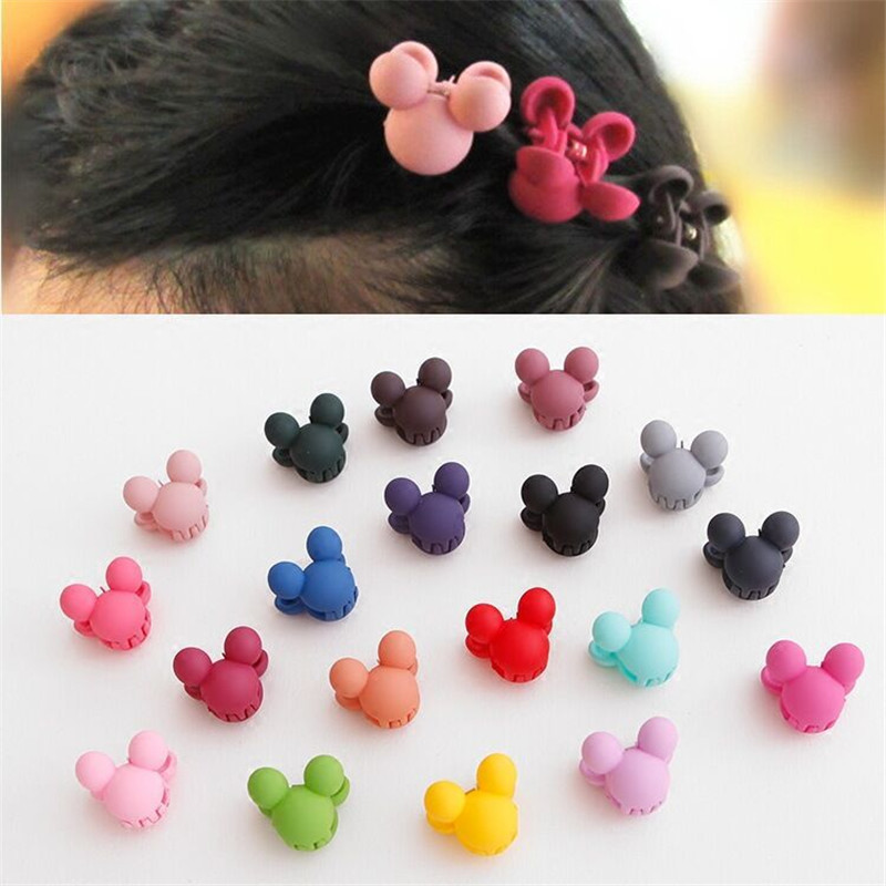 20Pcs/Lot Cartoon Children Hair Gripper Mix Cute Candy Color Mini Scrub Small Crabs Hair Claw Clips20Pcs/Lot Cartoon Children Hair Gripper Mix Cute Candy Color Mini Scrub Small Crabs Hair Claw Clips