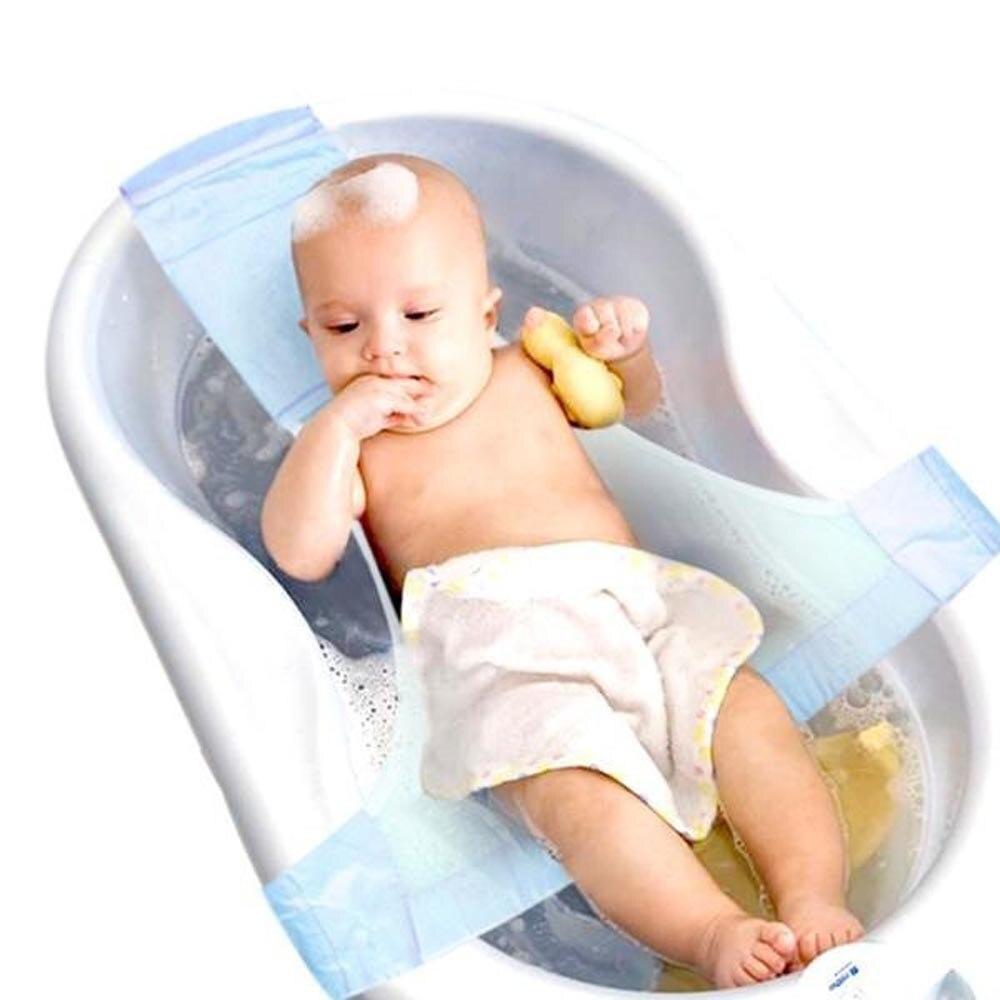 Adjustable Antiskid Infant Baby Cross Shaped Baby Bathing