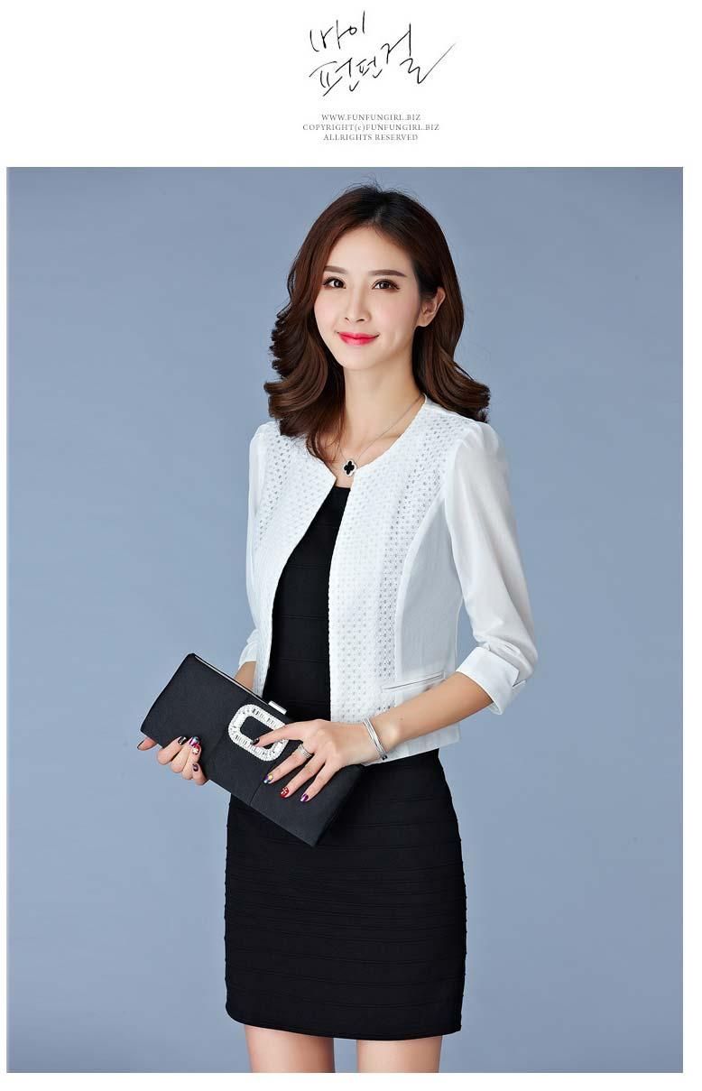 c31a04cd6 Compre Mujeres De Primavera Slim Blazer Coat 2018 Chaqueta Informal ...