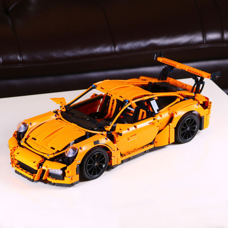 DHL 20001 20001B Technic Car Series Compatible with 42056 Speed Race Car Bricks Model Building Blocks