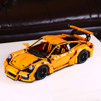 DHL 20001 20001B Technic Car Series Compatible with 42056 Speed Race Car Bricks Model Building Blocks Kids Toys Christmas Gifts