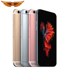 IPhone 6S разблокирована 4,7 дюймов двухъядерный процессор, 2 Гб Оперативная память 16 Гб/64/128 ГБ Встроенная память 12.0MP Камера LTE операционная система IOS ips за счет сканера отпечатков пальцев оригинальная б/у