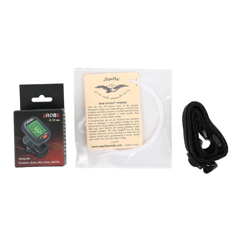Ukelele accessoire pakket-White Ukulele nylon String ukulele band - Muziekinstrumenten - Foto 1
