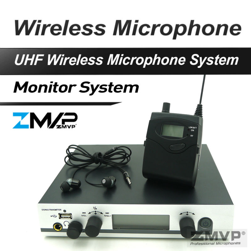 Free Shipping!! 300 IEM G3 Professional Wireless Stereo Monitor System With USB Function High Quality In Earphones