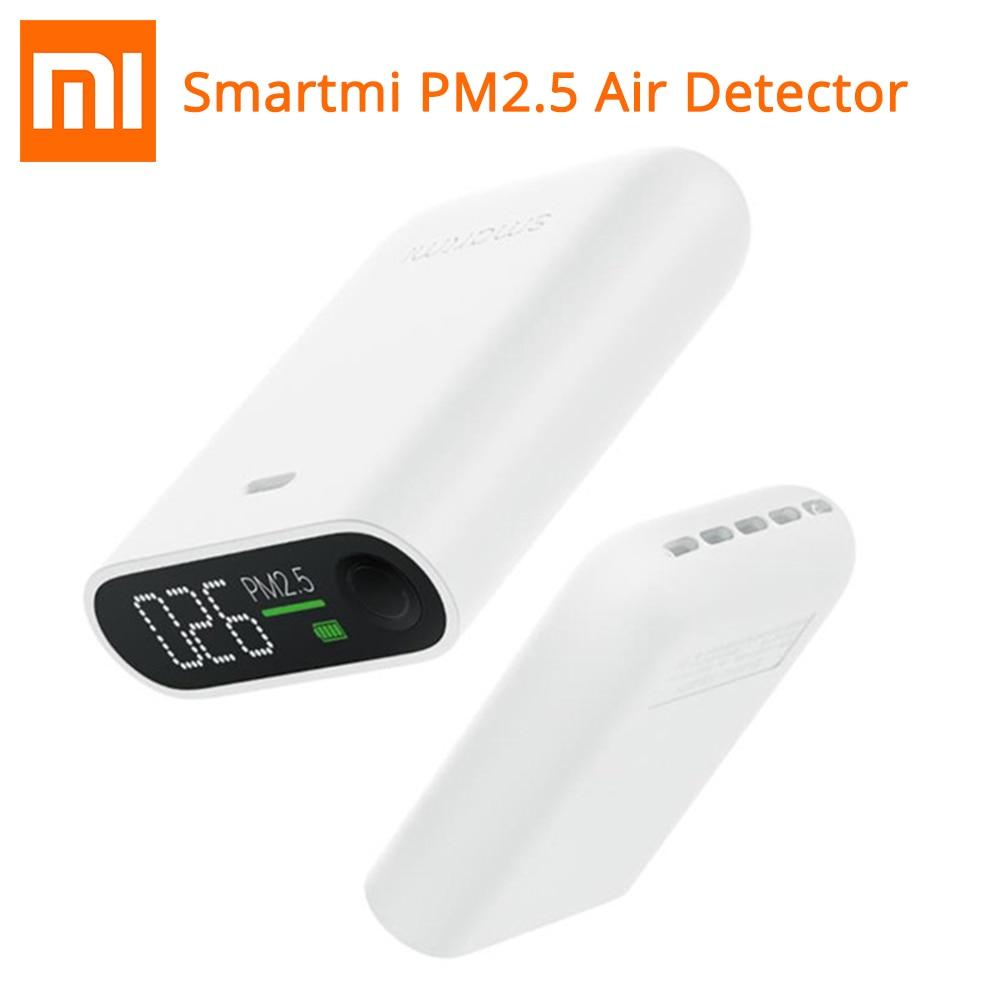 Xiaomi Smartmi PM2.5 Luft Detektor echtzeit Air Qualität Tester Drei-farbe Digital Anzeige Lange Standby Für Mijia smart Home