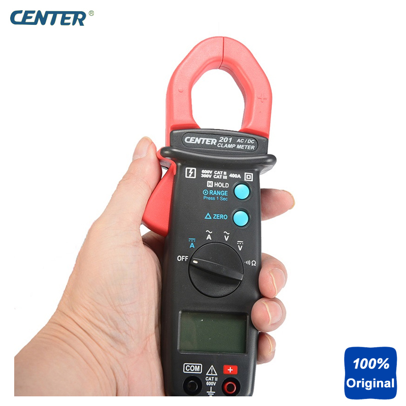 High Speed Bargraph Auto Ranging AC/DC Current Measurement Clamp Meter CENTER-201
