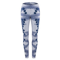 New-Hexagon-Womens-Compression-Suit-Two-Piece-Set-Long-Sleeve-Crop-Top-And-Slim-Leggings-Two-Piece-Set-5