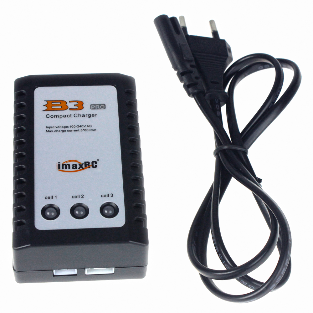 F08474 IMAX RC B3 Pro Compact Balance Charger for 2S 3S 7.4V 11.1V Lithium LiPo Battery + Freepost gdszhs b3 20w 2s 3s lipo battery compact for rc model 11 1v 7 4v 1 6a lipo battery 2s 3s charger