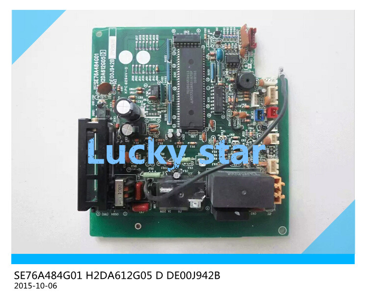 95% new for Air conditioning computer board circuit board SE76A484G01 H2DA612G05 D DE00J942B good working 95% new for haier refrigerator computer board circuit board bcd 198k 0064000619 driver board good working