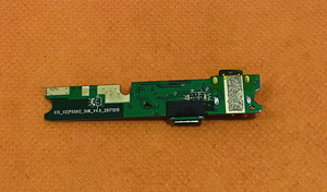 """Image 2 - Б/у оригинальная зарядная Плата USB для ELEPHONE Soldier Helio X25 MTK6797T Deca Core 5,5 """"2 K экран Бесплатная доставка"""