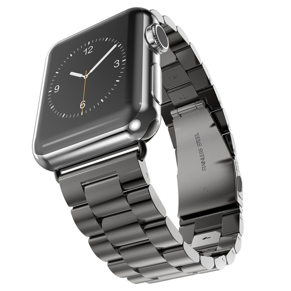 Stainless Steel Band For Apple Watch Strap Link Bracelet 38mm 42mm watchbands Smart Watch Metal Band for iWatch watchbands for garmin fenix3 smart watch black silver gold bracelet stainless steel metal watch band strap 26mm