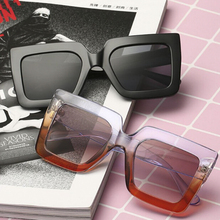 Oversized Sunglasses Retro Big Frame Shield Sunglas