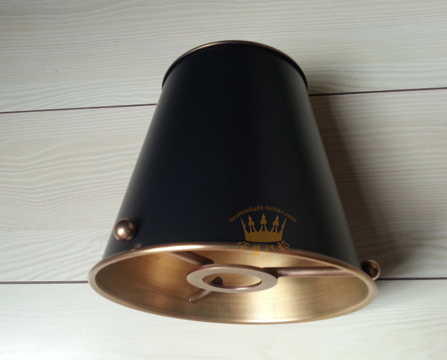 Hot all in rame lampadari lampada da parete paralume illuminazione
