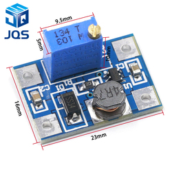 2 24V do 2 28V 2A DC DC SX1308 Step UP regulowany moduł zasilania Step Up Boost Converter dla DIY Kit w Części zamienne i akcesoria od Elektronika użytkowa na