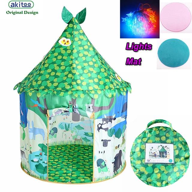 New Arrival Children S Princess Tent Game Castle House Treasure