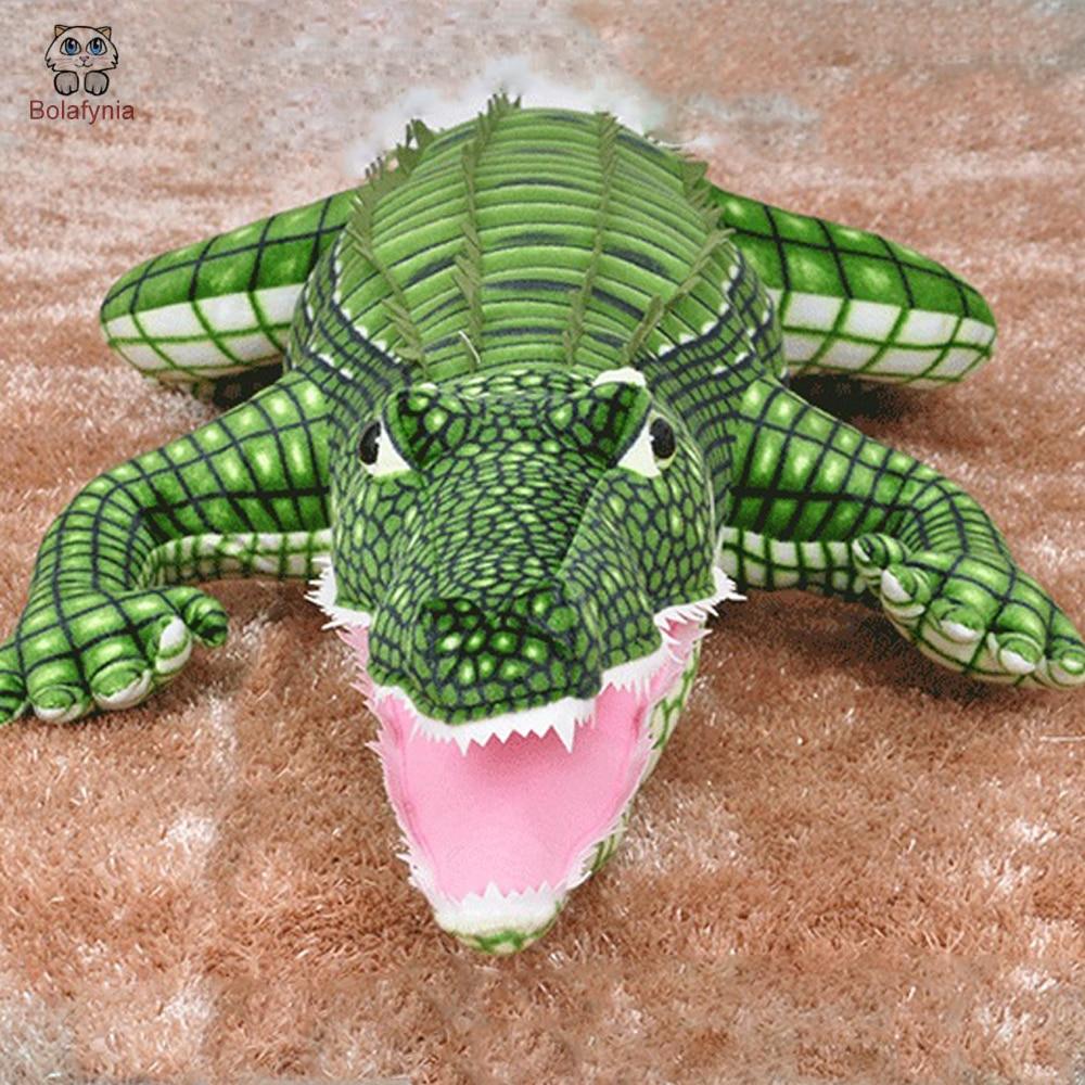 Bolafynia Kinder Plüsch Spielzeug Kissen Großen Mund Krokodil Baby Kinder Stofftier Für Weihnachten Geburtstag Geschenk Große Krokodil