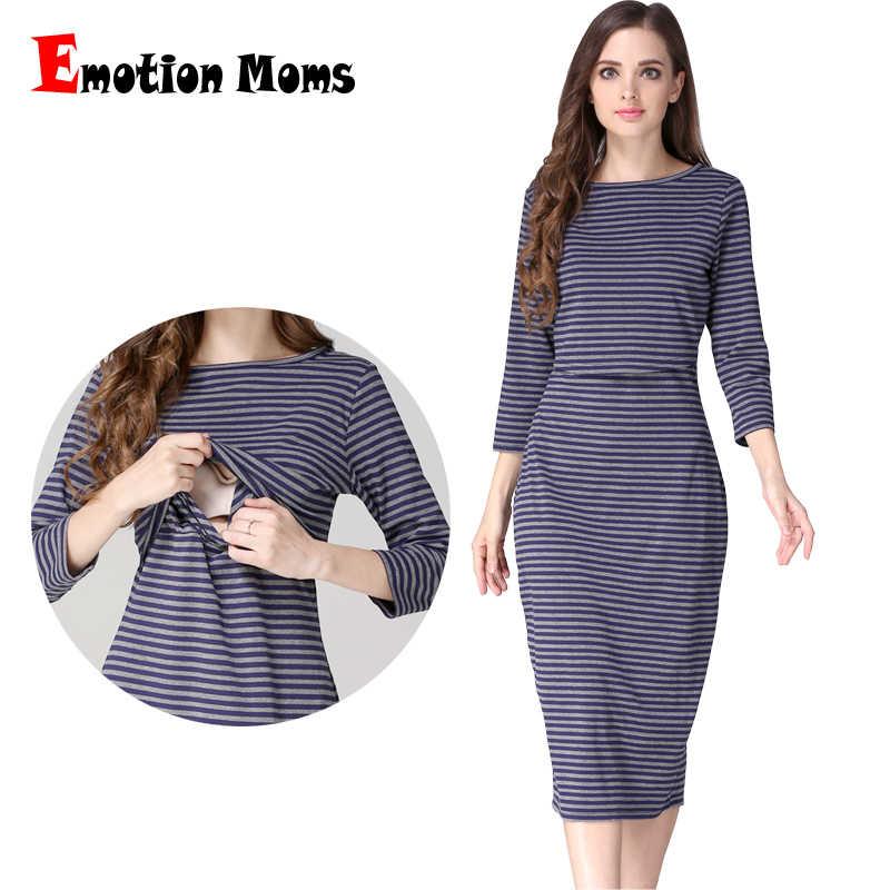 a8615c2ad0b8a Emotion Moms Party maternity clothes maternity dresses pregnancy clothes  for Pregnant Women nursing dress Breastfeeding Dresses