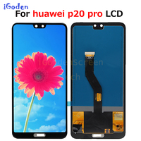 TFT Huawei P20 Pro lcd Display Touch Screen Digitizer Assembly P20 Pro lcd with frame 6.1 For Huawei p20 pro screen Replace